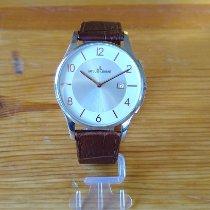 Jacques Lemans Classic London Acero 40mm Blanco Romanos