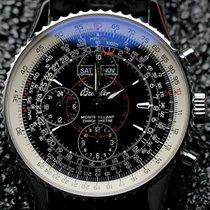Breitling Platinum Automatic Black pre-owned Montbrillant Datora
