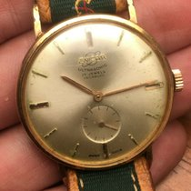 Enicar Gold/Steel 35mm Manual winding Ultrasonic pre-owned United States of America, New Jersey, Upper Saddle River
