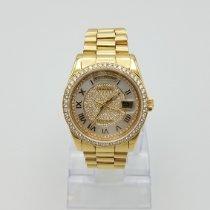 Rolex Day-Date 36 Желтое золото 36mm Белый Римские