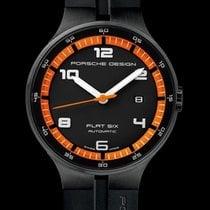 Porsche Design Flat Six 6350.43.44.1254 Novo Zeljezo 44mm Automatika