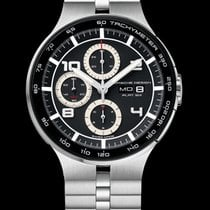 Porsche Design Flat Six 6360.42.44.0276 New Steel 44mm Automatic