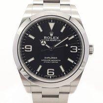 Rolex Explorer Steel 39mm Black Arabic numerals United Kingdom, London