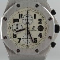 Audemars Piguet Royal Oak Offshore Chronograph Zeljezo 42mm Bjel Arapski brojevi