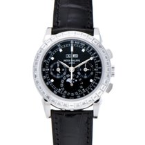 Patek Philippe 5971P-001 Platino 2009 Perpetual Calendar Chronograph 40mm usados