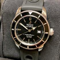 Breitling Superocean Heritage 42 Сталь 42mm Черный