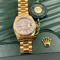Rolex Lady-Datejust Rose gold 26mm Mother of pearl No numerals