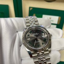 Rolex 126334 Steel 2019 Datejust 41mm pre-owned