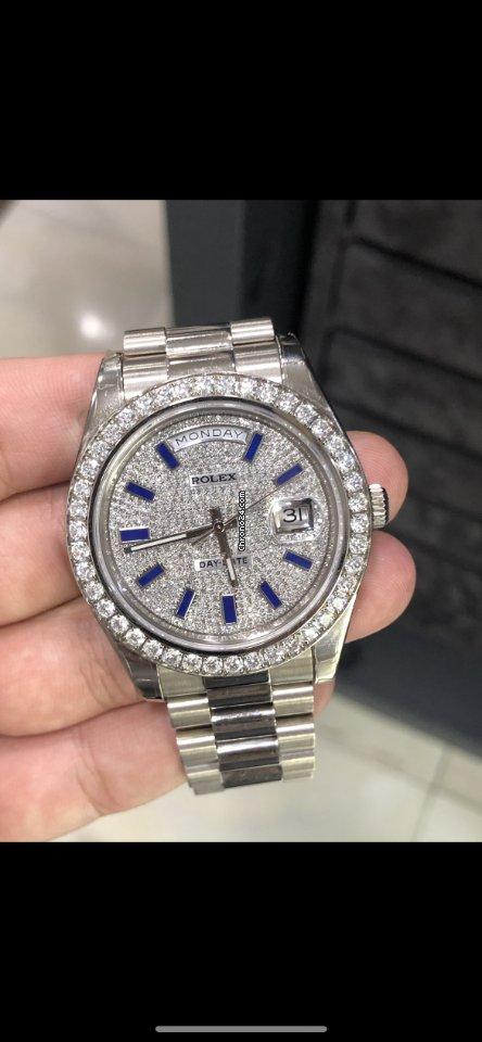 Rolex (ロレックス) デイデイト II 218349 2019 新品