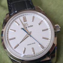 Seiko Grand Seiko Platinum 43mm Silver (solid) No numerals