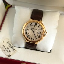 Cartier Ballon Bleu 40mm Or rose 40mm Argent Romains France, Toulon