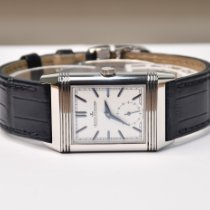 Jaeger-LeCoultre Reverso Duoface Acero 42.9mm Plata Sin cifras