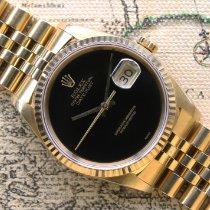 Rolex Datejust Yellow gold 36mm Black No numerals UAE, Dubai