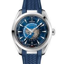 Omega Seamaster Aqua Terra Сталь 43mm Синий