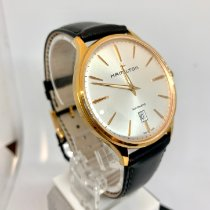 Hamilton Rose gold Automatic Silver No numerals 40mm new Jazzmaster Thinline