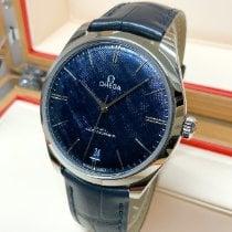 Omega De Ville Trésor Acero 40mm Azul Sin cifras