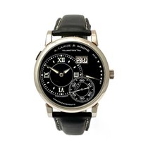 A. Lange & Söhne White gold Manual winding Black Roman numerals 41,9mm pre-owned Grand Lange 1