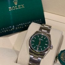 Rolex Oyster Perpetual 31 Steel 31mm Green No numerals United Kingdom, Gateshead