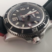 Breitling Steel Automatic Black Arabic numerals 44mm pre-owned Superocean 44