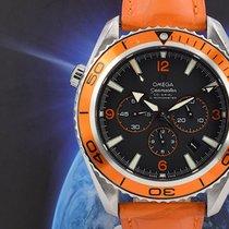 Omega Seamaster Planet Ocean Chronograph Stahl 45.5mm Schwarz Arabisch Deutschland, München