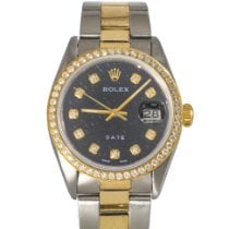 Rolex Oyster Perpetual Date 1500 Gut Gold/Stahl 34mm Automatik