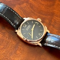 Panerai Red gold Manual winding Brown Arabic numerals 42mm pre-owned Radiomir 1940