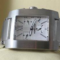 Montblanc Profile Steel 34mm Silver