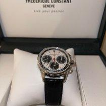 Frederique Constant Manufacture occasion 42mm Blanc Chronographe Cuir