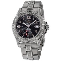 Breitling Colt GMT Steel 40mm Black Arabic numerals United States of America, New York, Greenvale