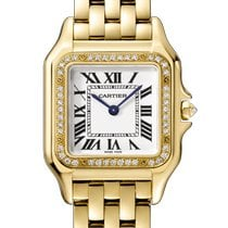 Cartier Panthère Yellow gold 27mm Silver Roman numerals United States of America, Florida, Boca Raton