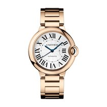 Cartier Ballon Bleu 36mm new Automatic Watch with original box and original papers WGBB0008