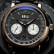 A. Lange & Söhne Datograph Rose gold 41mm Black United States of America, California, Irvine