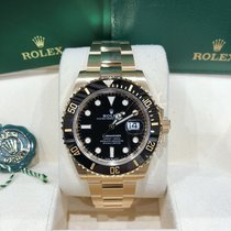 Rolex Submariner M126618LN-0002 New Yellow gold 41mm Automatic