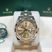 Rolex Datejust Acero y oro 41mm Oro Sin cifras