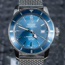 Breitling Superocean Heritage 42 occasion 42mm Bleu Date Acier