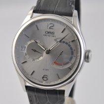 Oris Artelier Calibre 111 Steel 43mm Silver United States of America, Ohio, Mason