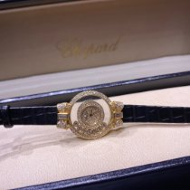 Chopard pre-owned 28mm White Sapphire crystal