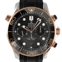 Omega 210.22.44.51.01.001 Gold/Steel 2020 Seamaster Diver 300 M 44mm pre-owned