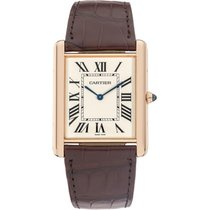 Cartier W1560017 Red gold 2012 Tank Louis Cartier 40,40mm pre-owned