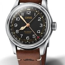 Oris Big Crown Pointer Date Acier 40mm Noir France, Bordeaux