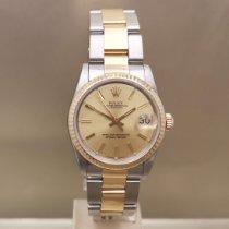 Rolex Lady-Datejust Or/Acier 31mm Or Sans chiffres