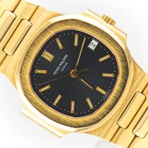 Patek Philippe 3800/001 Yellow gold 1998 Nautilus 37mm pre-owned