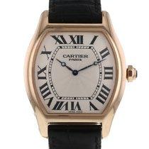 Cartier Tortue Or rose 37mm Argent Romains France, Paris