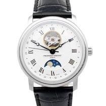 Frederique Constant Classics Moonphase Steel 40mm Silver