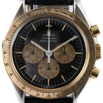 Omega Speedmaster Professional Moonwatch Gold/Steel 42mm Black