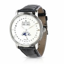 Blancpain Villeret Quantième Complet Steel 37mm White United States of America, New York, New York