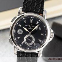Ulysse Nardin Dual Time Steel 41.5mm Black