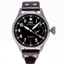 IWC IW500912 Сталь Big Pilot 46mm подержанные