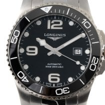 Longines HydroConquest Steel 43mm Black