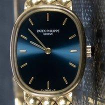 Patek Philippe Reloj de dama Golden Ellipse 22.8mm Cuerda manual usados Reloj con estuche original